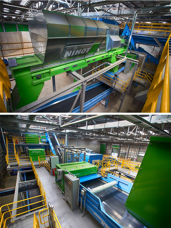 SUEZ UK Opens Aberdeen Recycling Systems Single Stream RDF
